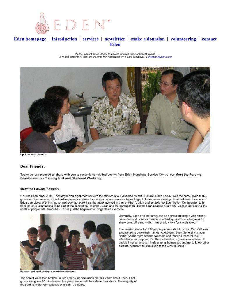 Newsletter 2005